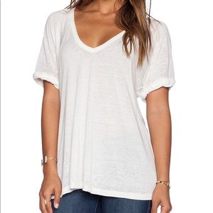 Free people cotton v-neck tee